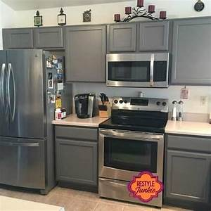custom gray kitchen cabinets grey kitchen cabinets gray With kitchen colors with white cabinets with handmade stickers