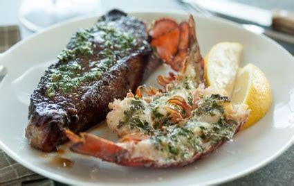 herb roasted lobster  steak  foods market