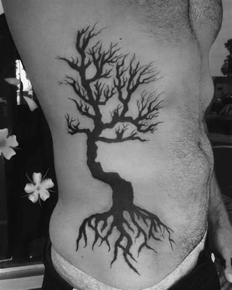 60 Tree Roots Tattoo Designs For Men - Manly Ink Ideas