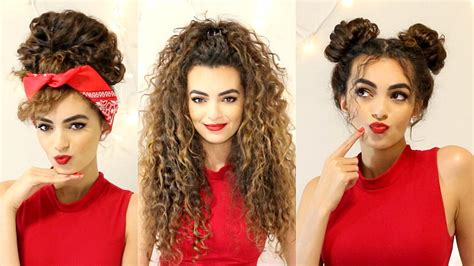 Curly Hairstyles For by Curly Hairstyles For A Semi Bad Hair Day Itsrimi