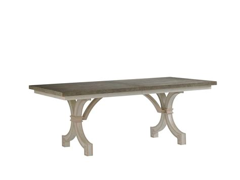stanley furniture dining table stanley furniture dining room st helena trestle table 340