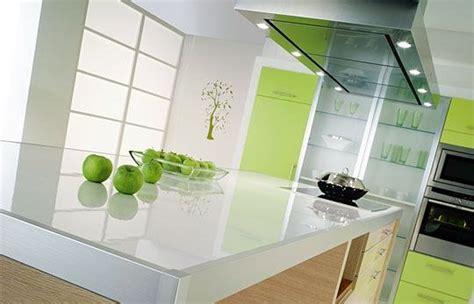 plan de travail cuisine en verre choisir un plan de travail pour la cuisine partie 2