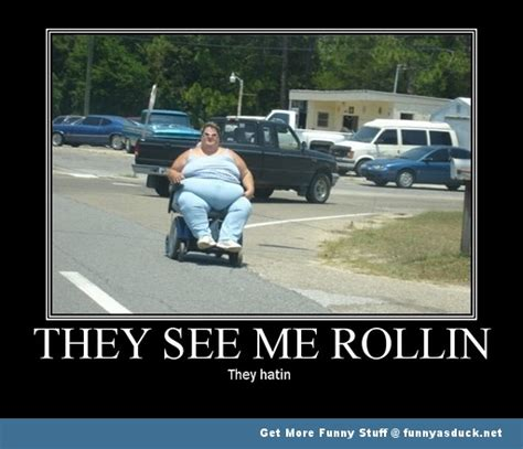 They See Me Rollin They Hatin Meme - wheelchair pictures funny