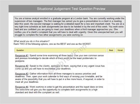 hsbc situational judgment test practice talent screener