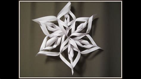 paper snowflake art  craft  kids