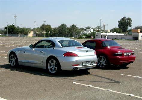 2010 Bmw Z4 Vs 2000 Bmw Z3 M Roadster