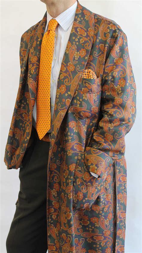 robe de chambre homme cachemire robe de chambre classique pour homme en 100 soie twill