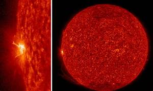 NASA discovers sunspot explosions sending EXTREME ...
