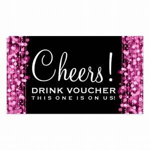 310 drink voucher business cards and drink voucher With drink token template