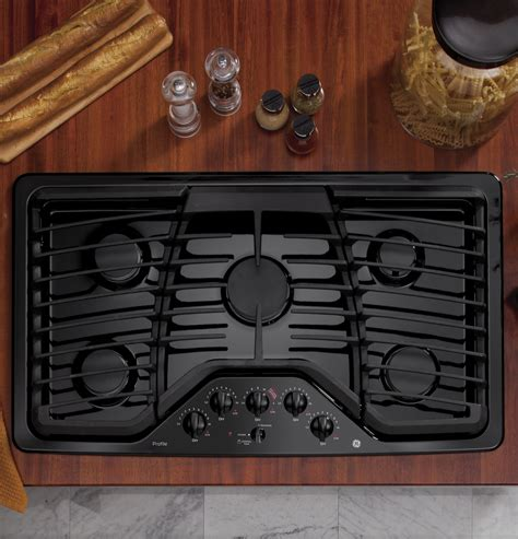 ge profile series  built  gas cooktop pgpdetbb ge appliances