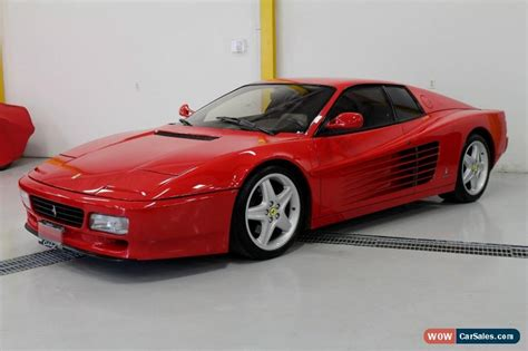 The model was produced between 1991 and 1994, when the f512m model replaced it, during which time 2261 examples were produced in the chassis number range 89100 to 99743. 1992 Ferrari Testarossa for Sale in Canada