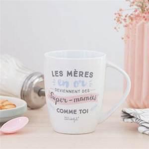 Tasse Fete Des Meres : mug les m res en or deviennent des super mamies comme toi ~ Teatrodelosmanantiales.com Idées de Décoration