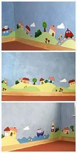 Die 25+ besten Ideen zu Wandgestaltung Kinderzimmer auf Pinterest Babyzimmer wandgestaltung