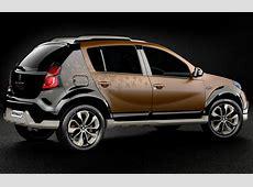 Sandero Stepway Concept Official Images autoevolution