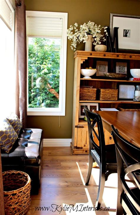 rustic farmhouse  country style dining room sherwin
