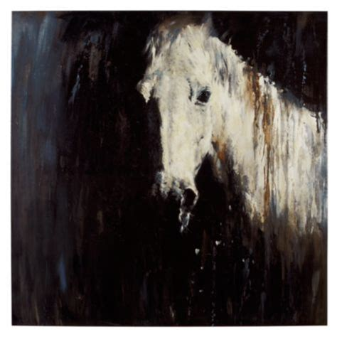 rain horse painting paintings abstract canvas horses gallerie artwork room zgallerie wall living type animal equine way paint drawings arrange