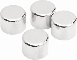 Drag Specialties Chrome 4 Pack Rocker Box Bolt Cover 99