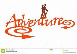 Adventure stock illustration. Illustration of typography ...