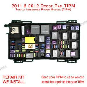 Fuse Box 2007 Dodge 3500 by Tipm Computer Chip Cruise Ebay
