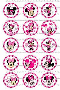 Free Mickey Mouse Templates Minnie Mouse Valentines Day Bottle Cap Images 1 Inch