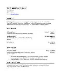 resume for marketing major marketing major looking for internships in digital marketing rate my resume resumes