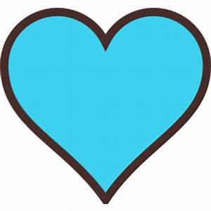 Blue And Brown Heart clip art - Polyvore