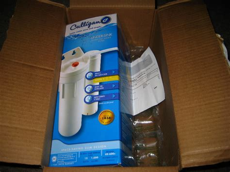 culligan us 600a under sink drinking water filter guide 001
