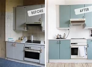 Cuisine Avant Après : carrelage cuisine repeint avant apres ~ Voncanada.com Idées de Décoration