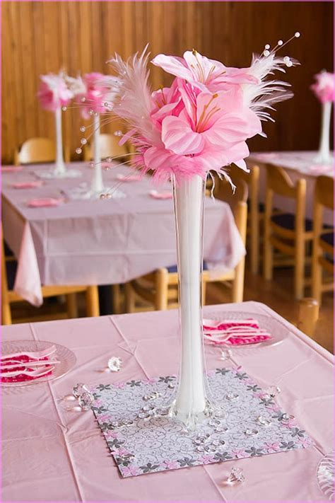 Decorating Ideas For Kitchen Bridal Shower by Wedding Shower Table Decorations