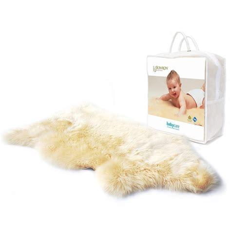 Nursery Sheepskin Rug by Bowron Babycare Lambskin Wool Rug Baby Nursery And Bed