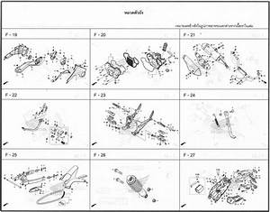 Parts Diagrams From The Honda Grom Manual