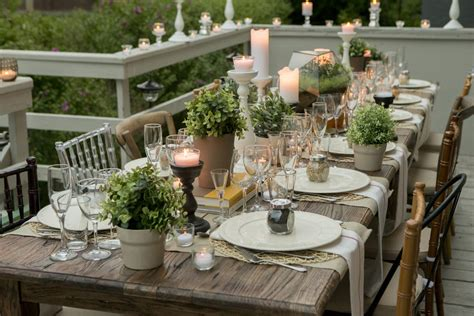 formal dining table floral arrangement table setting ideas for any occasion