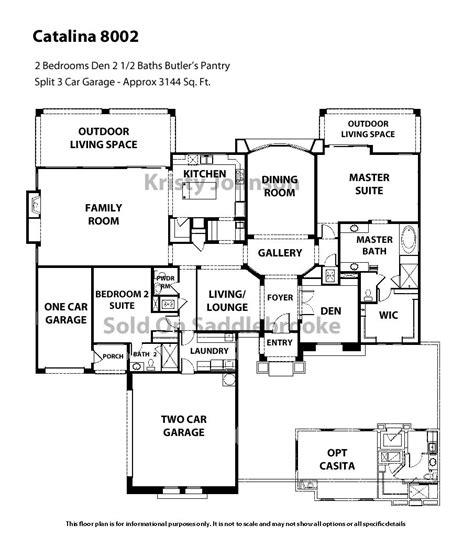saddlebrooke floor plans