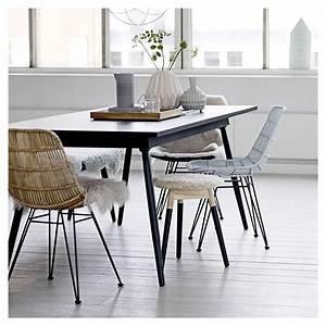 Chaise Rotin Design : darling chaise rotin tress design bloomingville ~ Teatrodelosmanantiales.com Idées de Décoration