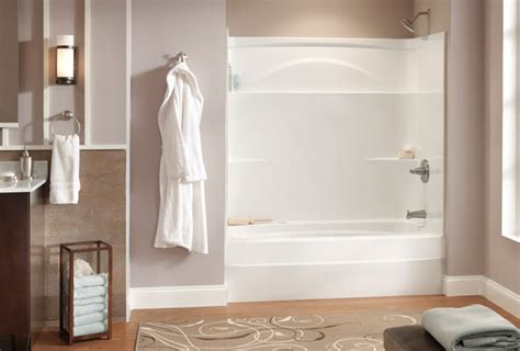 best tub surround material how to clean an acrylic shower or bathtub delta faucet
