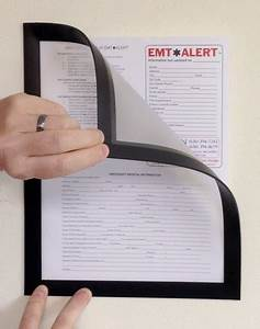 85x11 fridge lyt sign holder magically magnetic With magnetic document frame