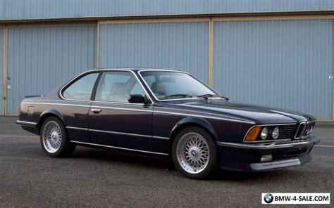 1984 Bmw M6 Euro M635csi For Sale In United States