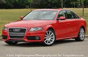 The 2012 Audi A4 Premium Plus in Brilliant Red Torque News