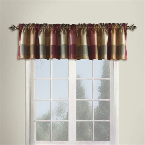 Window Modern Valance Living Room Valances Kitchen Curtain