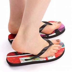 Stoff Flip Flops : flip flops bedrucken lassen kinder flip flops mit fotos gestalten ~ Frokenaadalensverden.com Haus und Dekorationen