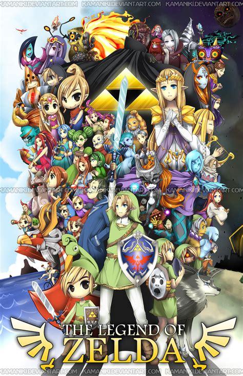 The Legend Of Zelda By Kamaniki On Deviantart