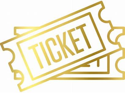 Tickets Clipart Ticket Vip Gold Admission Basketball