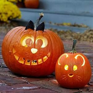 Kürbis Gesichter Gruselig : coole halloween k rbis gesichter ideen halloween ~ A.2002-acura-tl-radio.info Haus und Dekorationen