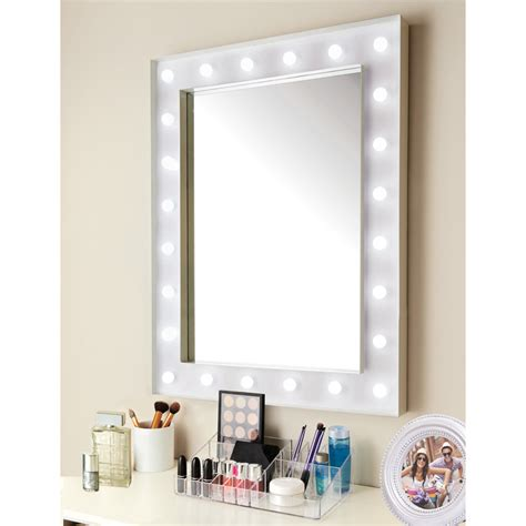 24 led bulb mirror decorative mirrors