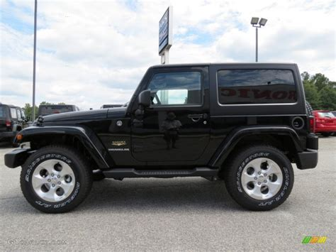 jeep sahara black black 2013 jeep wrangler sahara 4x4 exterior photo