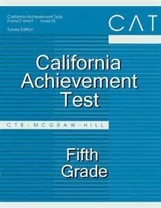 California Achievement Test