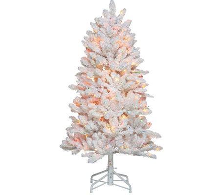 bethlehem lights 5 hudson flocked christmas tree page 1