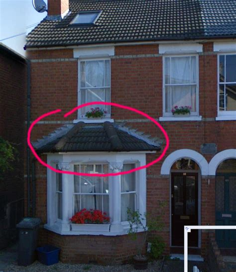flashing  bay window roofing pitched job