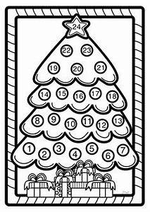 advent coloring pages christmas coloring pages craft With countdown timer