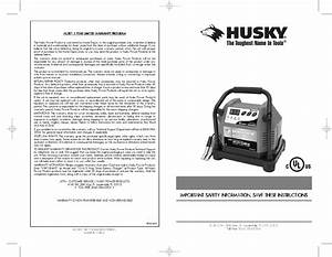 Download Husky Battery Charger Hsk1084hd Manual And User
